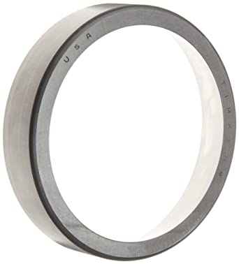 "Timken M514512 Tapered Roller Bearing, Single Cup, Standard Tolerance, Straight Outside Diameter, Steel, Inch, 4.8750"" Outside Diameter, 1.0310"" Width"