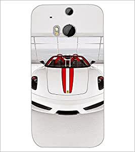 HTC ONE M8 CAR Designer Back Cover Case By PRINTSWAG