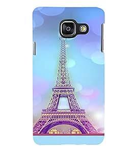 PrintVisa Travel Paris Eifel 3D Hard Polycarbonate Designer Back Case Cover for Samsung Galaxy A3 (2016)