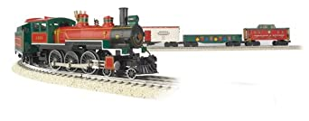 Williams by Bachmann Christmas Special - O Scale Ready to Run Electric Train Set