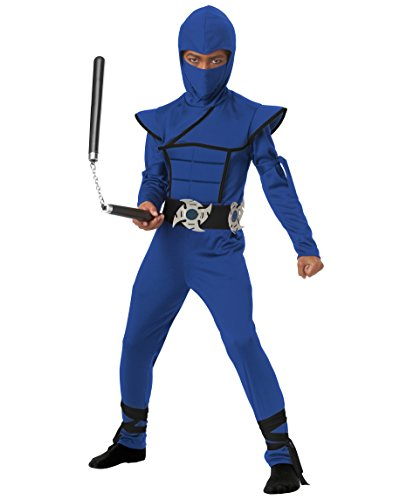 Blue Stealth Ninja Kids Costume