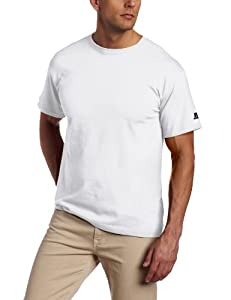 Russell Athletic Men's Basic T-Shirt, White, XX-Large