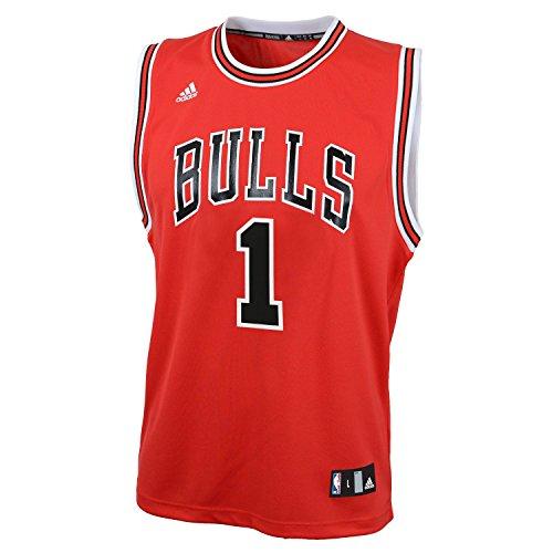 NBA Chicago Bulls Derrick Rose Replica Road Youth Jersey,