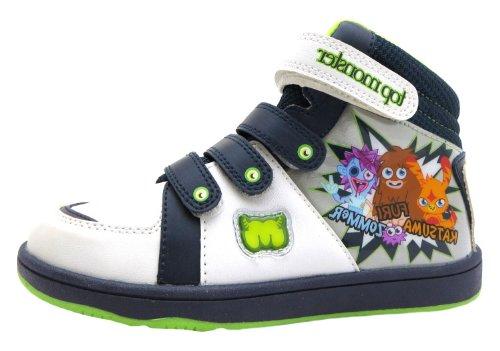 Moshi Monsters  Top Monster Hi Top, Jungen Sneaker Weiß weiß, Weiß - weiß - Größe: 2 UK