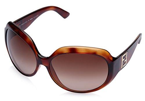 Fendi Fendi Oversized Sunglasses (Demi Brown) (FS 5002|238|65) (Multicolor)