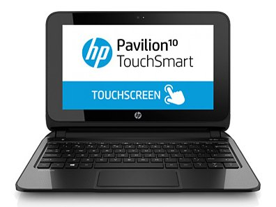 The 10.1-inch touch panel LCD mini laptop HP Pavilion Touch Smart 10-e003au F4A18PA #ABJ