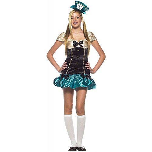 [Tea Party Hostess Costume - Teen Small/Medium] (Kids Mad Hatters Tea Party Costumes)