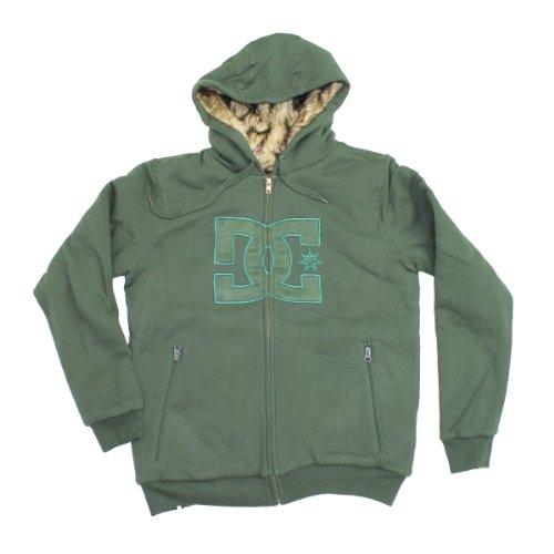 DC Mens Rabid Premium Hoodie - Deep Forest (L)