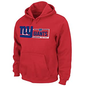 New York Giants Red Critical Victory VII (7) Sweatshirt Hoody by VF