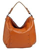 Heshe New Genuine Leather Lady's Casual Fashion Top Handle Tote Crossbody Shoulder Bag Satchel Purse Handbag for Women