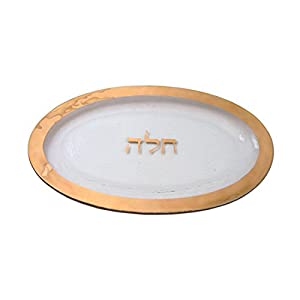Challah Plate by Annieglass