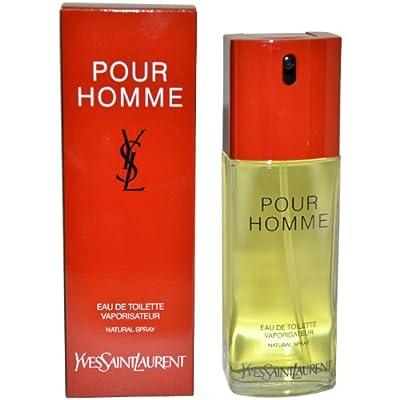 Ysl By Yves Saint Laurent For Men. Eau De Toilette Spray 3.4 Ounces