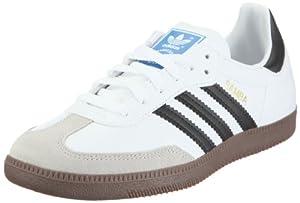 adidas Originals Samba, Herren Fußballschuhe, Weiß (White/Black 1/Gum5), 42 EU (8 Herren UK)