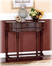 Hot Sale Old World Dark Rustic Sofa Table