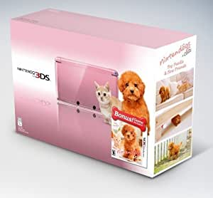 Nintendo 3DS Handheld Console with Nintendogs Cats | Pink