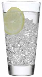 Luigi Bormioli Gallerie Conical Beverage Glass, Set of 4