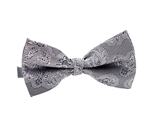 Arctic Star Men'S Self-Tie Bow Tie Silver