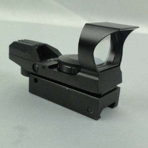4 Reticle Tactical Red&Green Illuminated Dot Sight with Sunshade