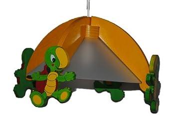 deckenlampe schildk te h ngelampe kinder kinderzimmer holz kinderlampe leuchte dc843. Black Bedroom Furniture Sets. Home Design Ideas