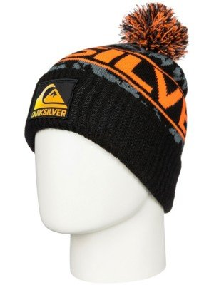 quiksilver-fader-youth-cuffed-bobble-beanie-neon-orange