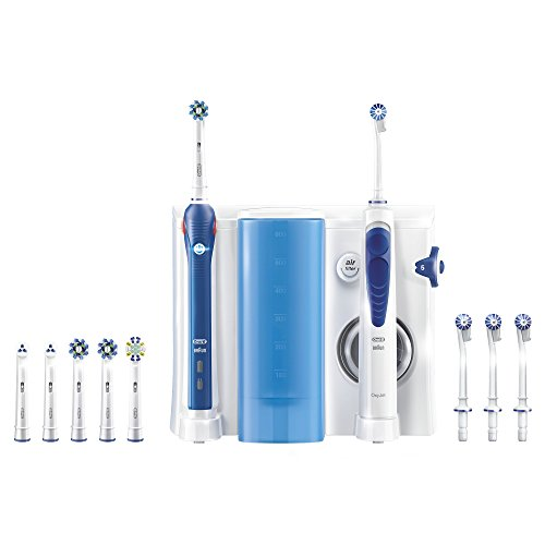 oral-b-elec-pro-3000-combine-dentaire-oxyjet-brosse-a-dents-rechargeable-hydropulseur