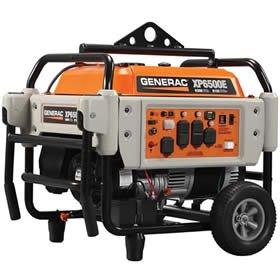 Generac Power Systems 5934 Professional Series Portable Generator With Electric Start, 6500-Watt