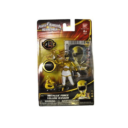 Power Rangers Megaforce Metallic Force Yellow Ranger - 1