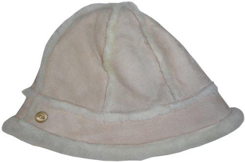 UGGUGG Australia Womens Shearling Sheepskin Winter Bucket Hat Beige/Ivory