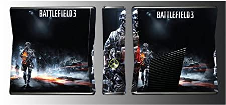 Battlefield 3 BF3 2 1942 Bad Company Game Vinyl Decal Skin Protector Cover for Xbox 360 Slim