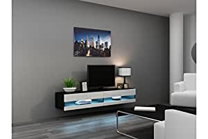 """Amazon.com: Seattle VER 80"""" LED - TV Stand - High Gloss TV"""