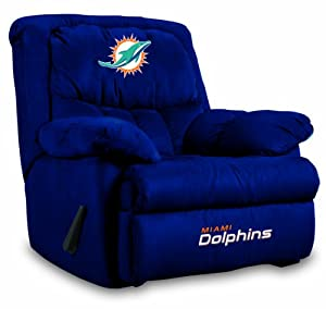 NFL Miami Dolphins Home Team Microfiber Recliner by Imperial