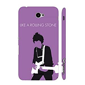 Sony Xperia E4 Like a Rolling Stone designer mobile hard shell case by Enthopia