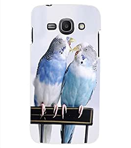 ColourCraft Love Birds Design Back Case Cover for SAMSUNG GALAXY ACE 3 3G S7270