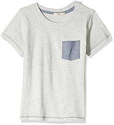 Fox Baby Boys' T-Shirt  (Stone Melange_12-18 months_327579)
