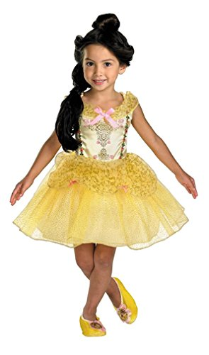 Costumes For All Occasions DG50498M Medium The Beast Belle Ballerina Toddler