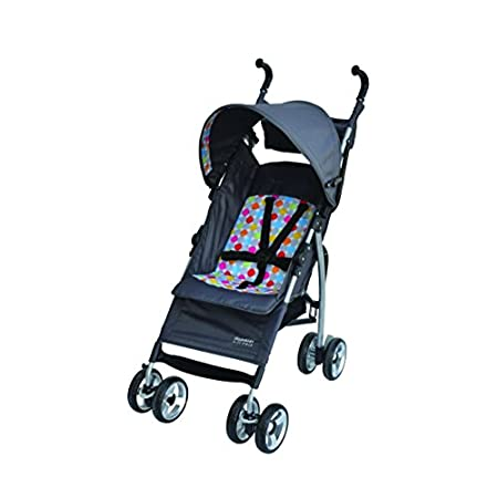 The jj cole lightweight stroller is easier for you, more comfortable for your baby. Finally a stroller that is durable and, yes, it really will comfortably fit your little one up to 50 pounds. The stroller features today's popular euro styled frame c...