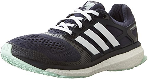 Adidas Women's Energy Boost ESM Mid Grey/White/Frozen Green Sneaker 9.5 M