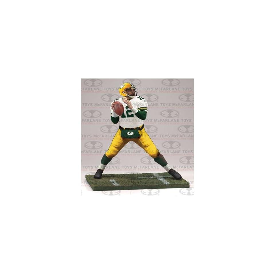 Aaron Rodgers Green Bay Packers NFL Series 30 Mcfarlane Action Figure