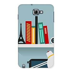 Impressive Creative Desk Multicolor Back Case Cover for Galaxy Note
