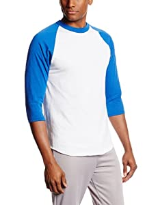 Buy MJ Soffe Mens 3 4 Sleeve Baseball Jersey by Soffe