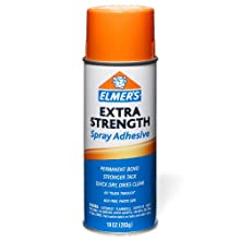 Elmer's Extra Strength Spray Adhesive, 10 Ounces, Clear (E456)