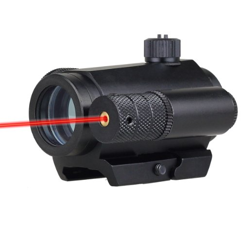 1X32 M2 Tactical Reflex Red/ Green Dot Scope Red Laser Sight 2 Switch Picatinny