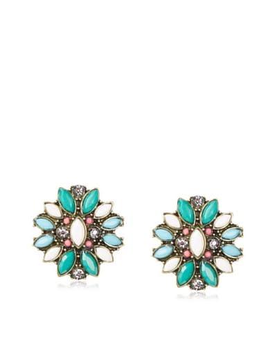 Leslie Danzis Starburst Crystal Post Earrings As You See
