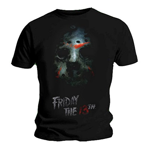 Official T Shirt FRIDAY 13TH Black Classic
