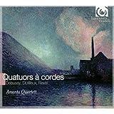 ドビュッシー:弦楽四重奏曲 ト短調 op.10、デュティユー:「夜はかくの如し」(弦楽四重奏のための)、ラヴェル:弦楽四重奏曲 ヘ長調 (Debussy& Ravel: String Quartets/ Arcanto Quartett)