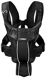 BABYBJORN Baby Carrier Active, Black, Mesh (Discontinued by Manufacturer)