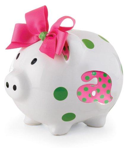 Painted ceramic piggy bank for How to paint a ceramic piggy bank