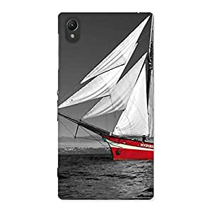 Delighted Vintage Ship Multicolor Back Case Cover for Sony Xperia Z1