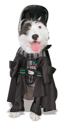 Rubies Costume Star Wars Darth Vader Pet Costume, Large