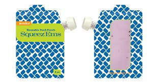 Booginhead Squeez'Ems Reusable Food Zip Pouch
